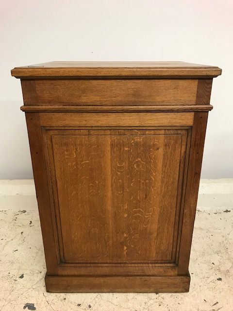 Offering this great Antique French shop counter  - a46